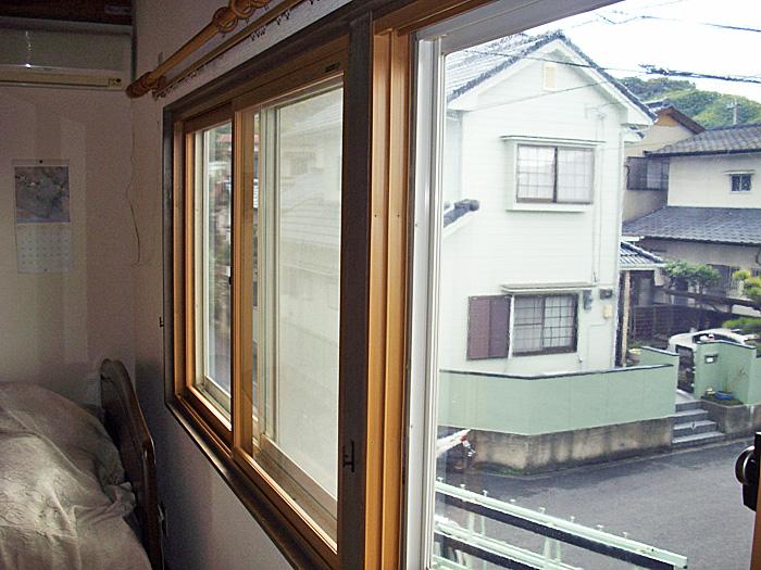 結露・防音対策バッチリの二重窓